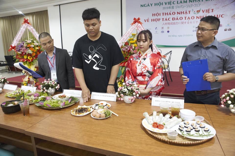 "Business Administration students attend ""Vietnam - Japan Cultural Exchange Festival 2019"""