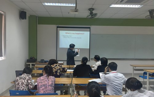 Leadership and Happiness class under the direction of Prof. Suk - Jun Lim